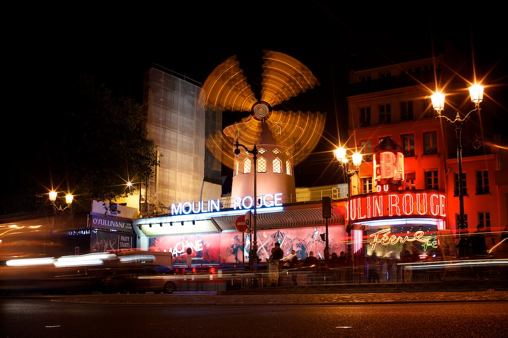 Moulin Rouge Pigalle Paris France by Akin Abayomi