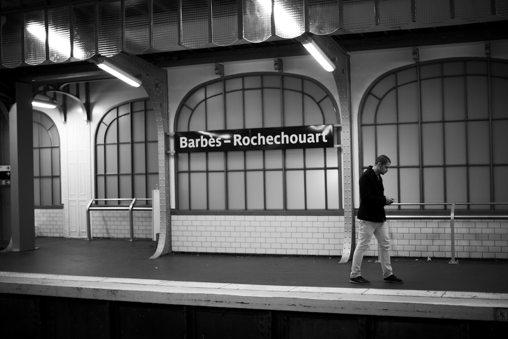 Barbes Rochechouart Station