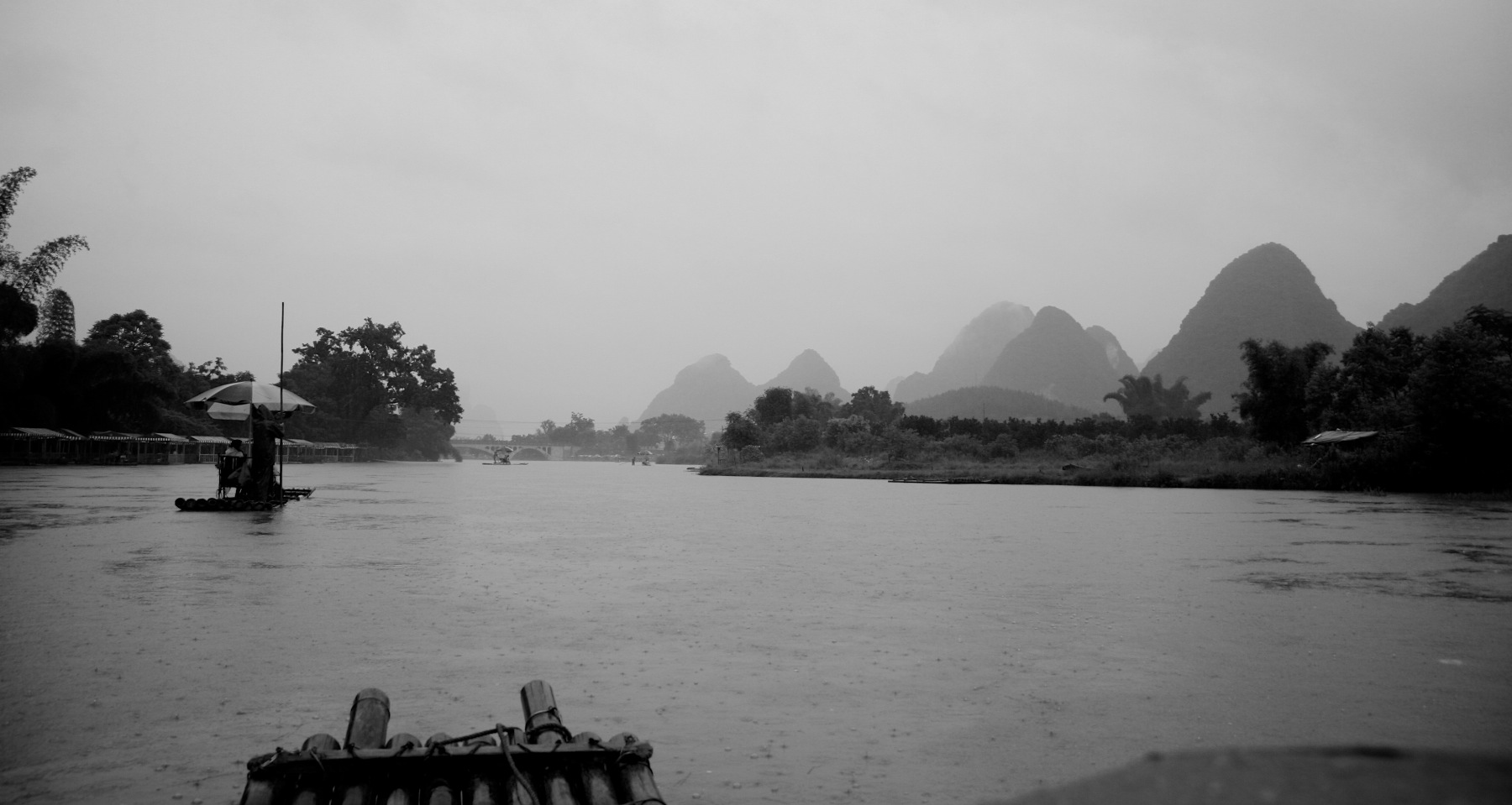 Ride on Li River in Yangshou, China