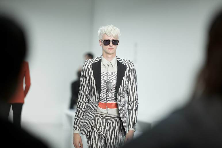 A.Sauvage SS15 Collection at the London Collection Men.
