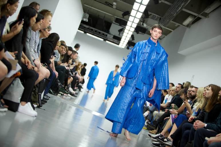 Craig Green SS15 catwalk @ London Collection Men.