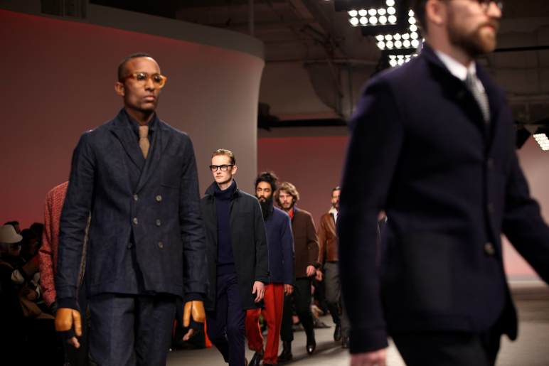 Oliver Spencer @ OSO LCM2013 Tuesday January 8th