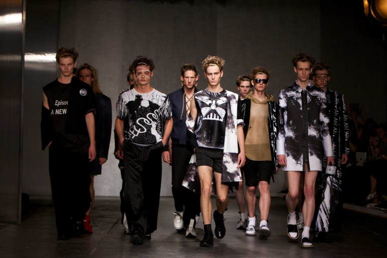 Xander Zhou, London Collection Men SS2015, LCM